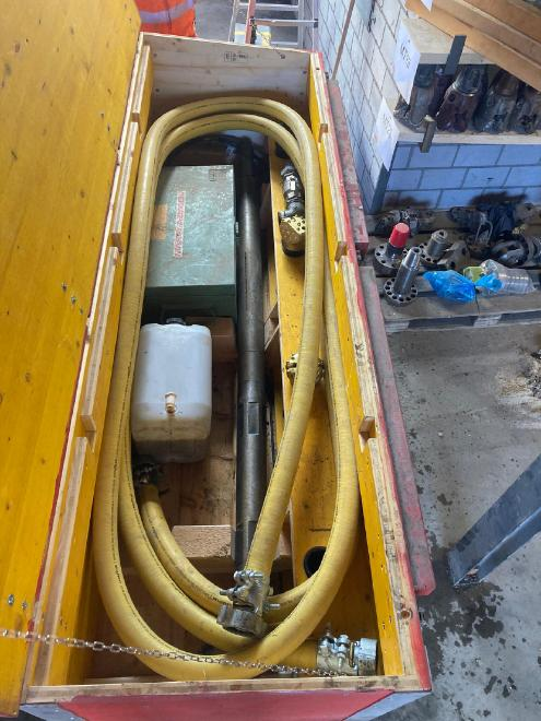 HDD50 Hardrock Drilling System incl. Backreaming System