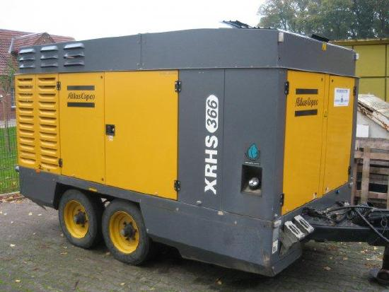 Atlas Copco Schraubenkompressor XRHS 366