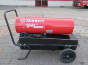 JAZ 30D Diesel / Kerosine Heater 30,74kW 340CFM MUNTERS JAZ30D DIESEL / KEROSENE HEATER 30.74KW 570M3/H 340CFM 230V NEW / UNUSED
