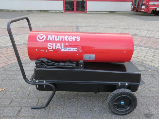 JAZ 30D Diesel / Kerosine Heater 30,74kW 340CFM