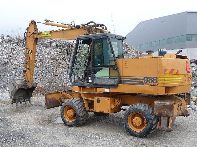Mobile excavator - Case Poclain 988P Mobilbagger