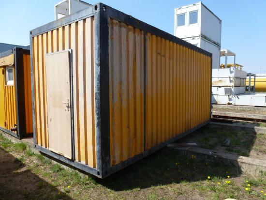 20' Bürocontainer / Wohncontainer [9413002253]