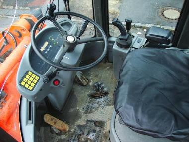Încărcător pe pneuri - Volvo L40TP Radlader Allrad wheelloader Palettengabel