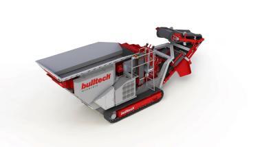 mobile Brecheranlage - Bulltech Minerals bulltrack 1000 evo