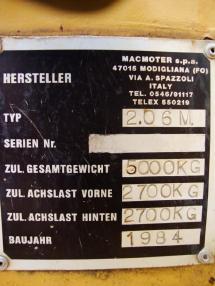 Excavadora de ruedas - Zeppelin Z 206 M Mobilbagger excavator 5t Hammerhyd 5500h