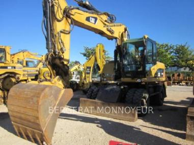 Escavatore gommato - Caterpillar M316D