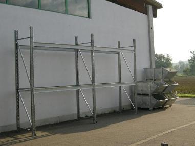 Mobile excavator - Maier Palettenregal