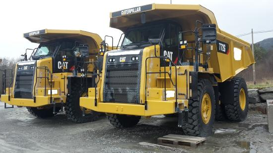 Caterpillar 772G  - SOLD -
