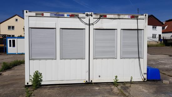 Containex Doppelcontaineranlage