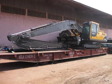 Excavadora de cadenas - Volvo swamp buggy Volvo 210-240