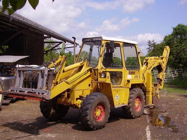 Backhoe loader - Kramer 416s