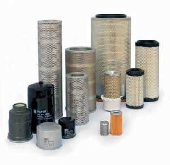 Filter für Baumaschinen