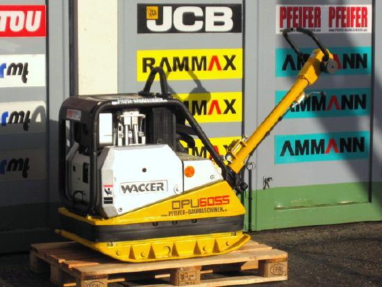Wacker Rüttelplatte WACKER DPU 6055 / HATZ-Diesel -478 kg Rüttelplatte WACKER DPU 6055 / HATZ-Diesel - 478 kg