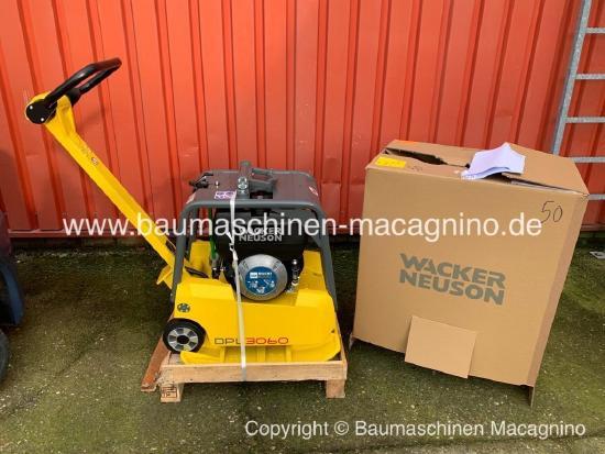 Wacker Neuson DPU 3060 Hts Rüttelplatte NEU