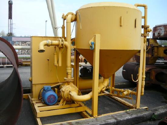Cuoghi Bentonite mixing plant / Bentonitmischanlage