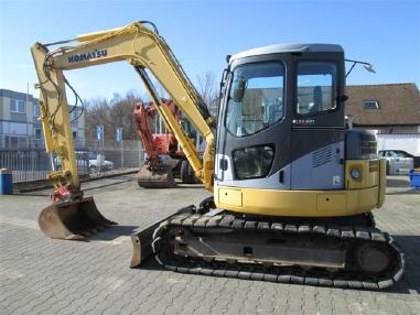 Mini excavator - Komatsu PC78MR-6