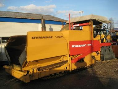 Pavimentadora de asfalto de cadenas - Dynapac 15000