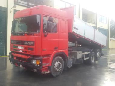 trostrani kiper - DAF 95 430 ATI