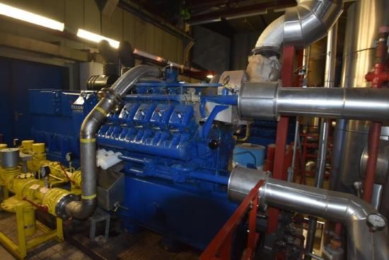 TBG 604 (2x V16 & 1xV12) Gas engines for sale! biogas / sewage gas incl. All accessories!