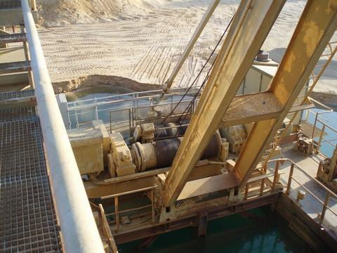 plutajući bager - Rohr 3,3m3