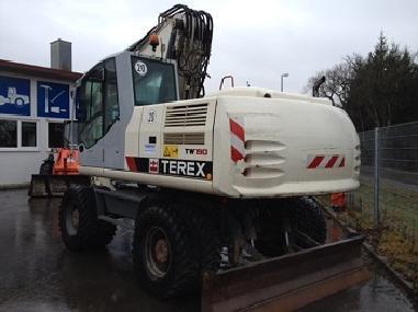 Excavator mobil - Terex 190W