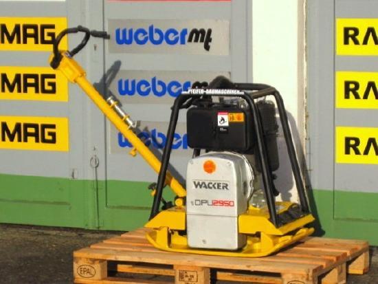 Wacker Rüttelplatte WACKER DPU 2950 H / HATZ-Diesel