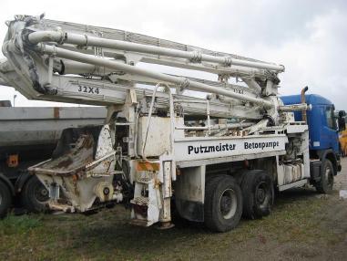 Mobilna pompa do betonu - Putzmeister 32m