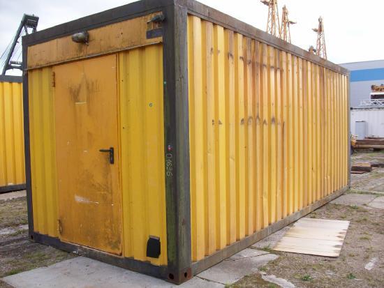 BILFINGER 20' Container