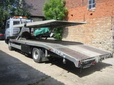 Odtahové vozidlo - Mercedes Benz 817 L Doppelstock Vollausstattung Luftgefedert