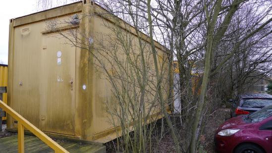 Jodag 20' Bürocontainer / Wohncontainer [9412002295]