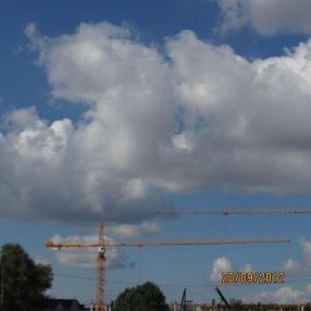 Nosturi, kääntökehä ylhäällä - Liebherr 280 EC-H