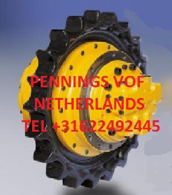 Hanix All modells ,types HANIX final drive fahrantrieb moteur de chenille  (all modells all type Euro 500 and up)