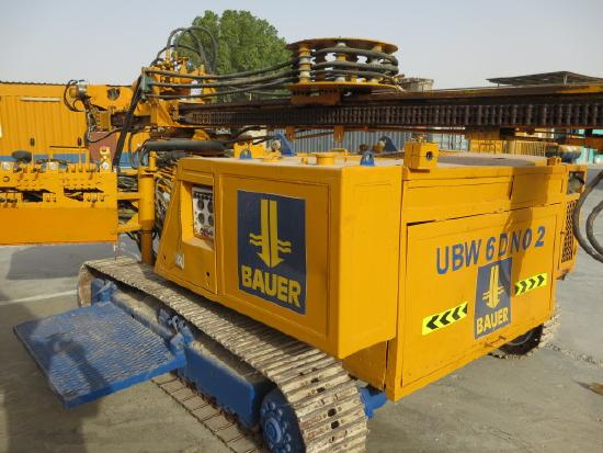 Bauer Anchor drilling rig UBW 06