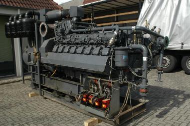 Agregat prądotwórczy - Deutz BF 16M 816