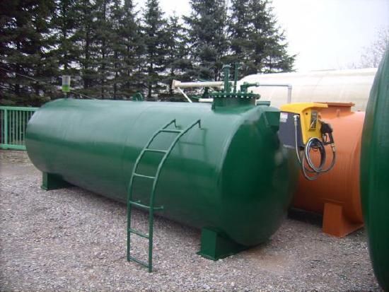 Dieseltank Heizöltank Tankanlage 10.000 Liter