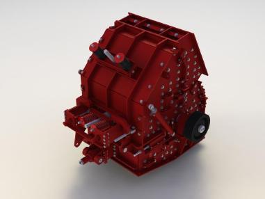 Prallmühle - Bulltech Minerals LPC 100 S