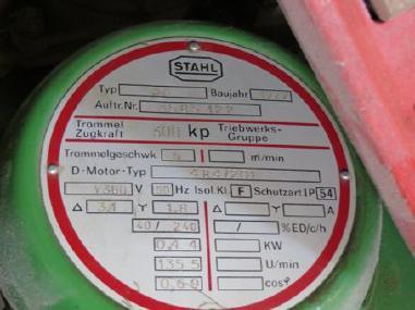 Разное - STAHL R 6