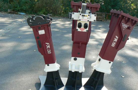 Hydraram FX-30 | 160 kg | 2 ~ 4 t. | Neu!!