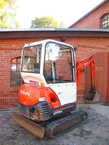 Mini excavator - Kubota KX41-3V Minibagger excavator Hammerhydraulik