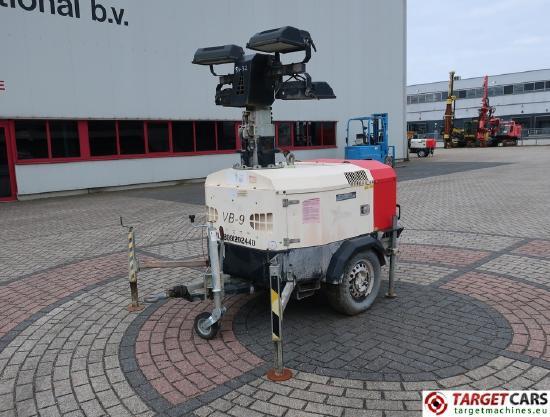 Tower Light VB-9 Tower Light 4x400W w/generator 230V