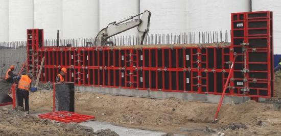 Bau-form wall formwork BF120