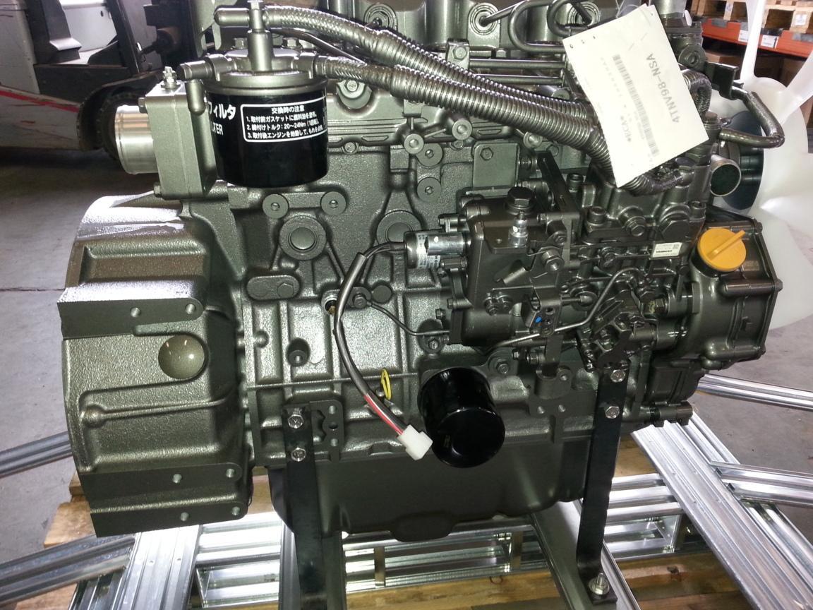 My Ford Benefits >> Yanmar 4TNV98 Diesel Engine new DE / QBSJ-2090-CC