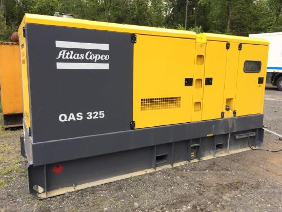 Atlas Copco QAS 325 Stromaggregat Atals Copco 325kVA
