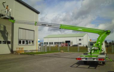 Truck mounted work platform - Teupen Eurob 20 T