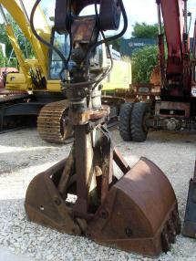 Excavadora de ruedas - O&K MH 6