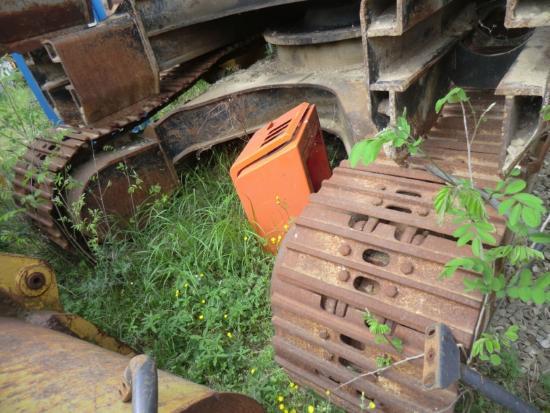 Caterpillar IT28B 5SD1310 TELAIO ANTERIORE COMPLETO DI
