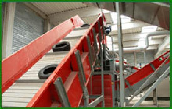 Tyre Processing - Recycling Installation