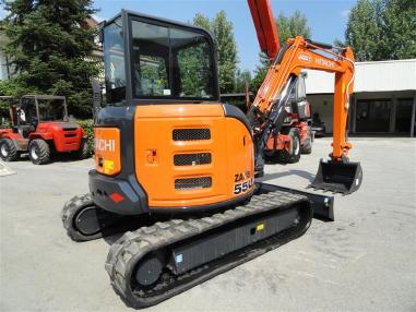 Mini-pelle - Hitachi ZX55U-5A CLR