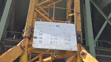 Nosturi, kääntökehä ylhäällä - Wolff WK 5015 FL mit FU; 90 tm [2125000516]