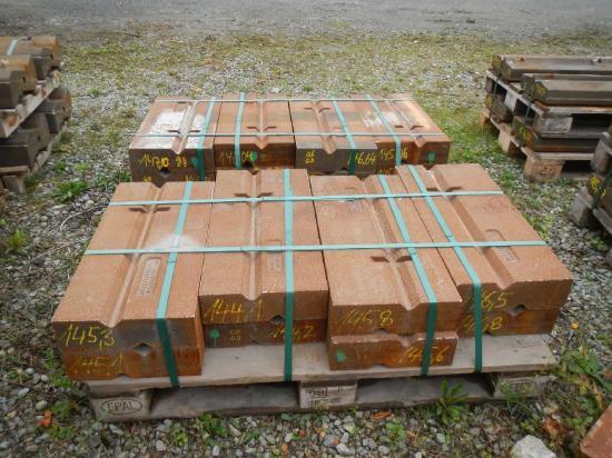 Schlagleisten Prallplatten Verschleißteile